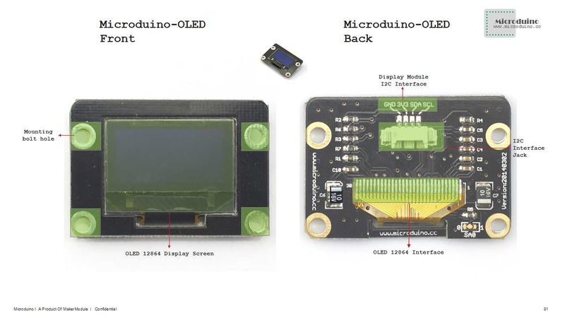 Microduino-Module OLED - Microduino Wiki