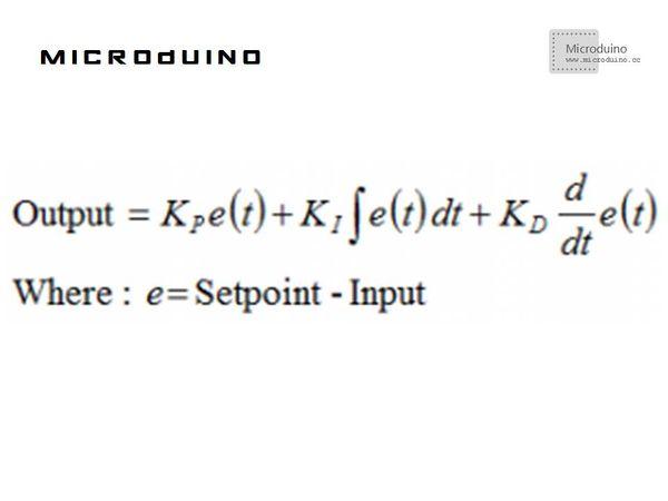 Microduio Single dimension PID adjustment - Microduino Wiki