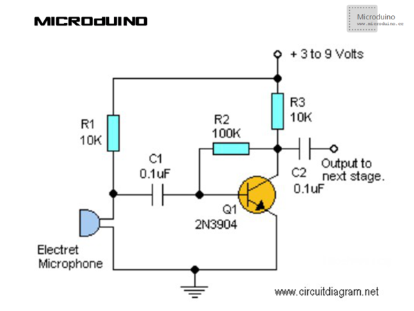 lesson 47--microduino audio spectrum  u0026 video output